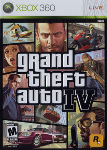 *USED* Grand Theft Auto IV (#710425390128)