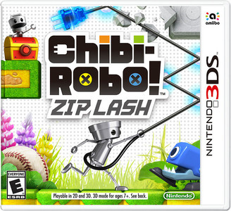 *USED* CHIBI ROBO ZIP LASH W/AMIIBO