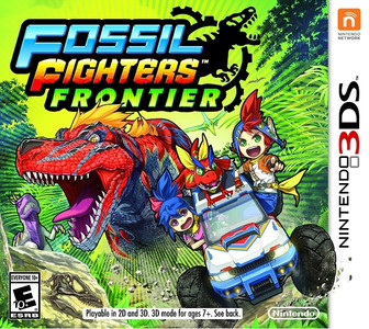 *USED* FOSSIL FIGHTERS FRONTIER [E10]