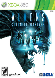 *USED* ALIENS COLONIAL MARINES