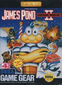 *USED* JAMES POND II CODENAME ROBOCOD (#743175790689)