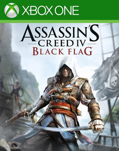 *USED* ASSASSINS CREED BLACK FLAG (#008888538127)