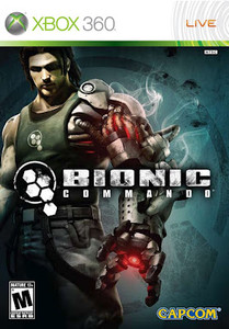 *USED* BIONIC COMMANDO (#013388330058)