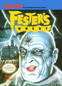 *USED* Festers Quest (#020763110075)