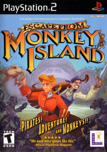 *USED* ESCAPE FROM MONKEY ISLAND [T] (#023272110352)