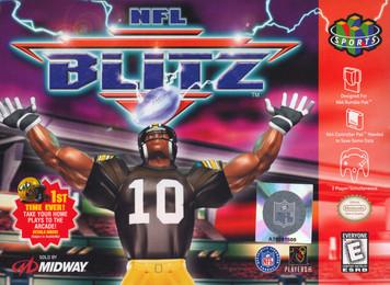 *USED* NFL BLITZ (#031719198047)
