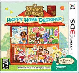 *USED* ANIMAL CROSSING HAPPY HOME DESIGNER [E] (#045496743284)