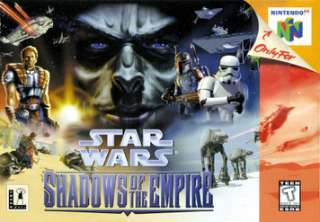 *USED* STAR WARS SHADOWS OF THE EMPIRE (#045496870133)