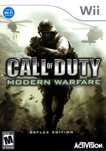 *USED* CALL OF DUTY MODERN WAREFARE REFLEX [M] (#047875837515)