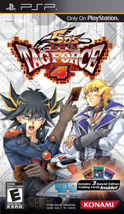 *USED* YU-GI-OH 5DS TAG FORCE 4 (#083717260530)