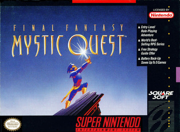 *USED* FINAL FANTASY MYSTIC QUEST (#094689121088)