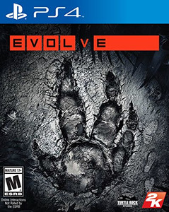 *USED* PS4 EVOLVE (#710425473746)