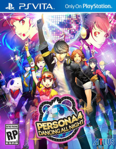 *USED* PERSONA 4 DANCING ALL NIGHT [T] (#730865200085)