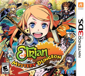 *USED* ETRIAN MYSTERY DUNGEON [E10] (#730865300211)