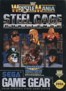 *USED* WWF Wrestlemania Steel Cage Challenge (#741062112101)