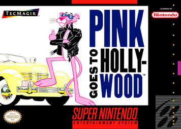*USED* PINK GOES TO HOLLYWOOD (#751571220037)