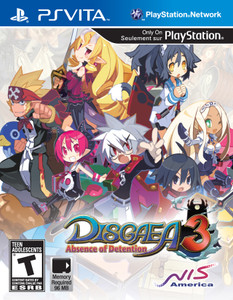 *USED* DISGAEA 3 ABSENCE OF DETEN (#813633011516)
