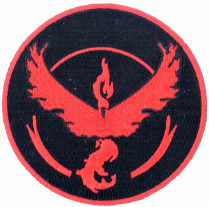 POKEMON GO TEAM VALOR PATCH (#483060160707)