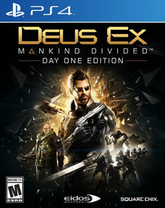 *USED* DEUS EX MANKIND DIVIDED [M] (#662248916361)