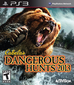 *USED* CABELAS DANGEROUS HUNTS 2013 [T] (#047875769557)
