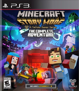 *USED* MINECRAFT STORY MODE THE COMPLETE ADVENTURE [E10] (#894515001979)