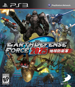 *USED* EARTH DEFENSE FORCE 2025 (#879278130166)
