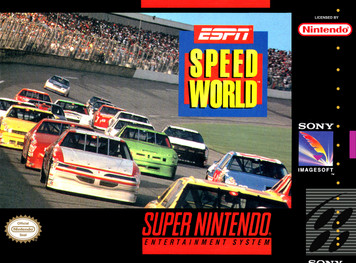*USED* ESPN SPEEDWORLD (#735009216007)