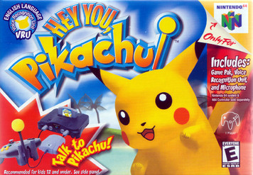 *USED* HEY YOU PIKACHU WITH REQUIRED MIC (#045496870768)