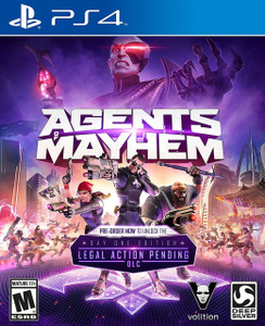 *USED* AGENTS OF MAYHEM [M] (#816819013625)