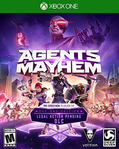 *USED* AGENTS OF MAYHEM [M] (#816819013700)