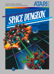 *USED* SPACE DUNGEON (#487053431454)