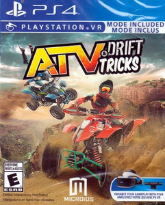 *USED* ATV DRIFT AND TRICKS [E] (#850340008040)
