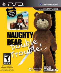 *USED* NAUGHTY BEAR DOUBLE TROUBLE (#812872014272)
