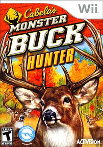 *USED* CABELA'S MONSTER BUCK HUNTER (NO GUN INCL) (#047875761896)