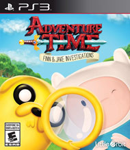 *USED* ADVENTURE TIME FINN AND JAKE INVESTIGATIONS (#446821398481)