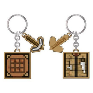 CRAFT TABLE MINECRAFT KEYCHAIN (#190371862465)