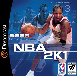 *USED* NBA 2K1 (#010086510638)
