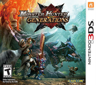 *USED* MONSTER HUNTER GENERATIONS [T] (#013388305254)