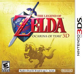 *USED* LEGEND OF ZELDA OCARINA OF TIME 3D (#045496741556)