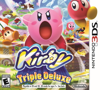 *USED* 3DS KIRBY TRIPLE DELUXE (#045496742768)
