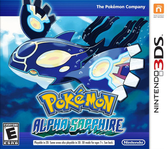 *USED* 3DS POKEMON ALPHA SAPPHIRE (#045496742942)