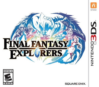 *USED* 3DS FINAL FANTASY EXPLORERS (#662248916552)