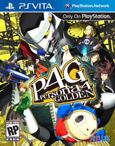 *USED* PERSONA 4 GOLDEN (#730865200009)