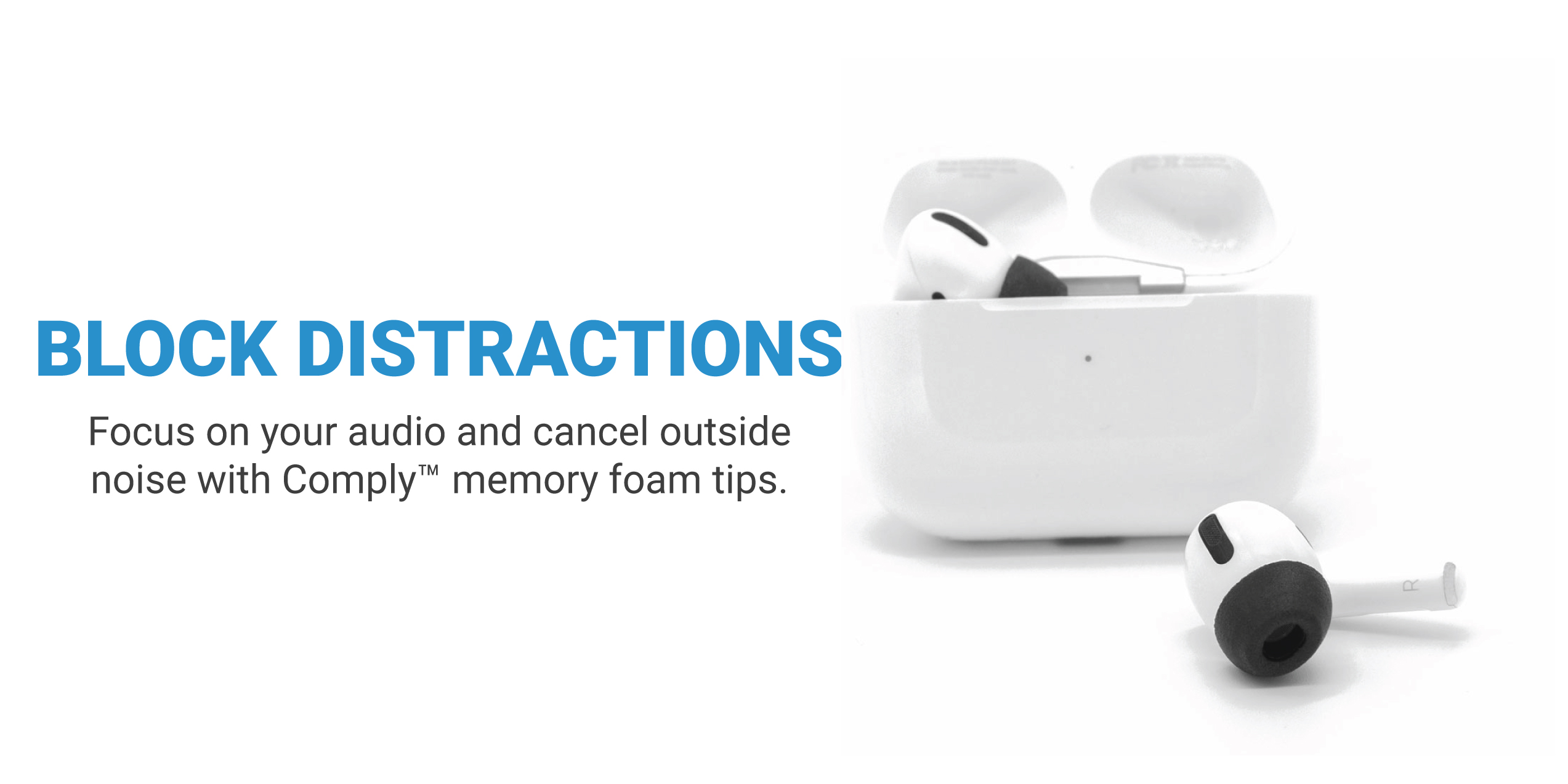 Comply Foam Tips for Apple AirPods Pro