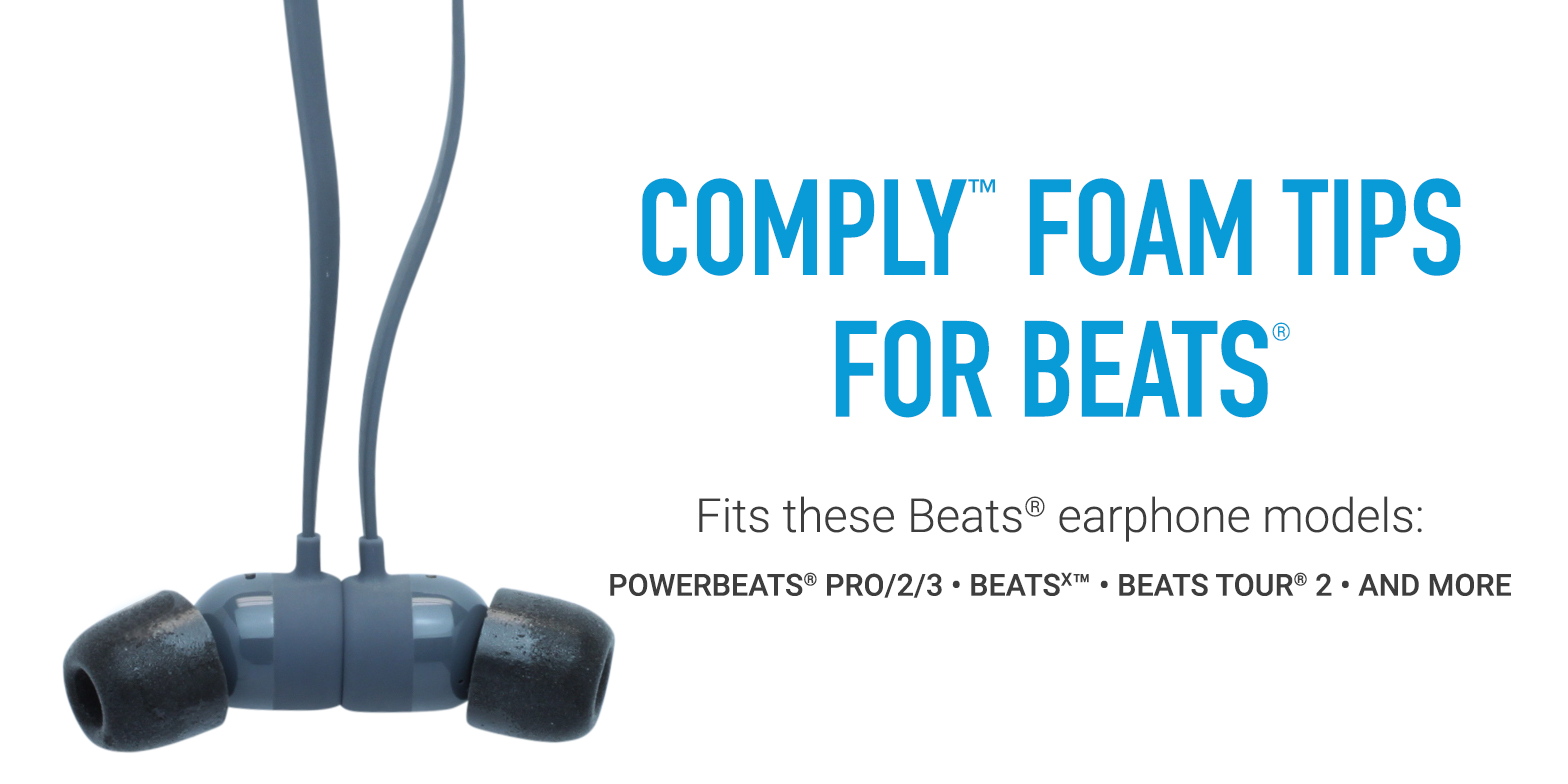 Comply Tips Compatible with Beats By Dre