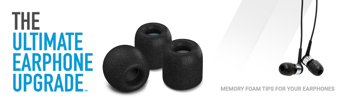 caff141cd1ee7a Comply™ Foam Tips - Replacement Earphone Tips