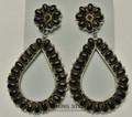 Sterling silver Earrings Black Onyx