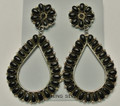 Sterling silver Earrings Black Onyx