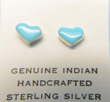 Turquoise Stud Sterling Silver Earring
