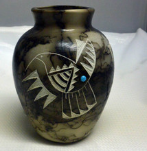 Ginger Jar Horsehair Pottery